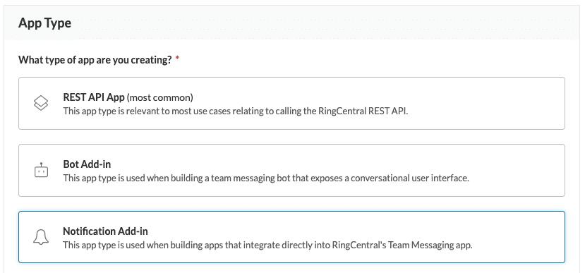 Add-in app type
