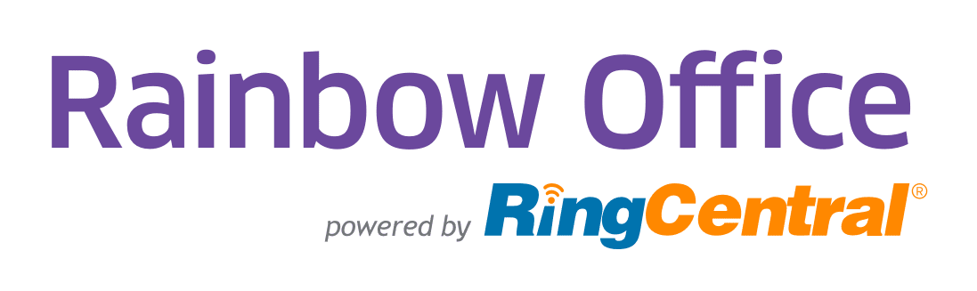 Rainbow Offcie by RingCentral logo